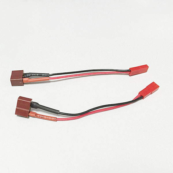 T Female To JST male Soft Silicone Wire Switch 22AWG Cable 100mm RC Cable Connector 50pcs 25pairs 2 pin jst 100mm pitch 2 54mm male and female wire connector plug cable for diy rc battry model