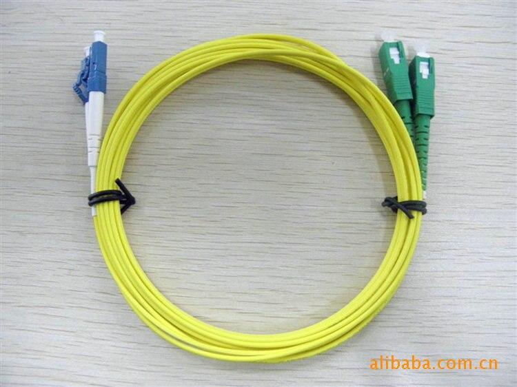 Оптический кабель, Lc / PC-SC / apc, 3.0 мм, Одномодовый 9/125, Дуплекс, Sm58-lc по ск 5 м