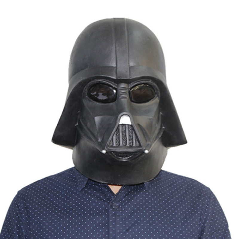 X-Merry Toy Latex <font><b>Darth</b></font> <font><b>Vader</b></font> <font><b>Mask</b></font> Black Movie Precision Cast Replica Helmet (1:1 Scale) Halloween <font><b>Mask</b></font>