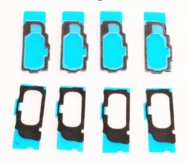 10X Home button Rubber Seal Gasket Spacer Adhesive Replacement for iPad Pro 12.9