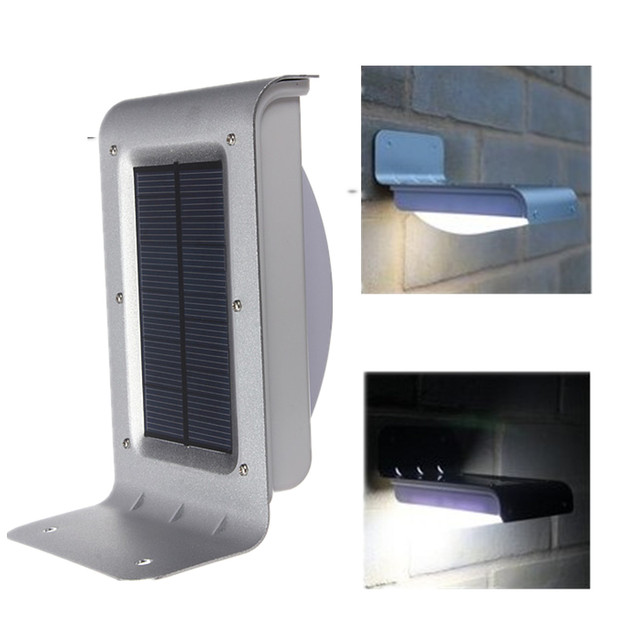 16 led solar outdoor light panel powered motion sensor led lamp 16 led solar outdoor light panel powered motion sensor led lamp energy saving wall lamp solar aloadofball Image collections