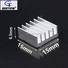 60 шт gdstime 15x15x65 мм алюминиевый охлаждающий чипсет Радиатор