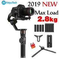 2018 новые feiyutech feiyu AK2000 3 оси Gimbal Стабилизатор Ручной для NIKON SONY CANON DSLR Камера Gopro действий 2,8 кг полезной нагрузки