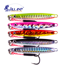 iLure 5 Pcs/lot Metal Lure Fishing Spoon Sea Pesca Hard Lure Bait Fishing Tackle Metal Jigging lures 18g 21g 30g Fishing Bait hot 30pcs lot spinners fishing lure mixed color size weight metal spoon lures hard bait fishing tackle free shipping atificial