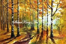 palette knife oil painting  modern oil painting canvas oil painting K129