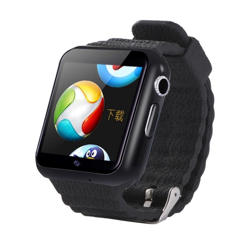 Nouvelle montre intelligente enfants 3G Wifi Sport Fitness hommes Tracker décontracté femmes horloge étanche caméra positionnement sûr moniteur montres V7W - 4