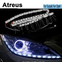Atreus 2X 50CM Car LED Crystal water lamp DRL Lights 12v Car styling For Suzuki Swift Grand Vitara Opel Astra H J G Accessories