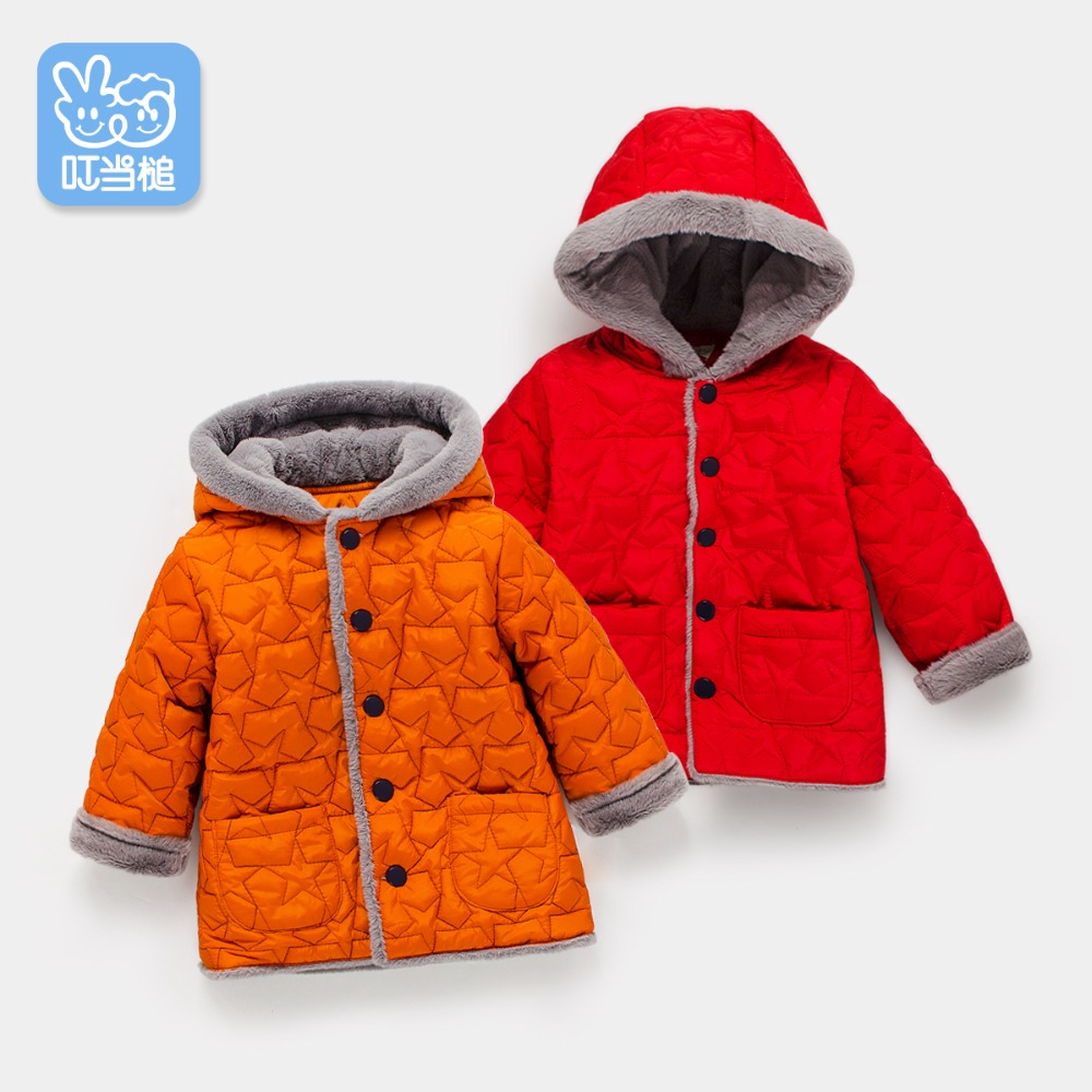 2018 autumn and winter boys and girls jacket baby winter thick warm cotton clothes baby hooded quilted jacket 2016 autumn and winter fashion explosion models men s warm thick cotton korean slim casual jacket