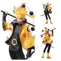 Naruto Modo Uzumaki Naruto Figure Toy 18CM/ 7 Inch Anime Model Toy Naruto Kyuubi Doll 233