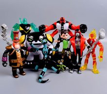 Ben 10 PVC Figure Toy Ben10 Action Toy Figures Gift For Children Birthday newyear Present 9pcs/set(China)