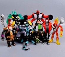 Ben 10 Figura PVC Brinquedo Ben10 Ação Figuras de Brinquedo de Presente Para Crianças Presente de Aniversário newyear 9 pçs/set