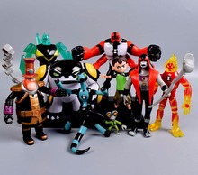 Ben 10 PVC Figure Toy Ben10 Action Toy Figures Gift For Children Birthday newyear Present 9pcs/set