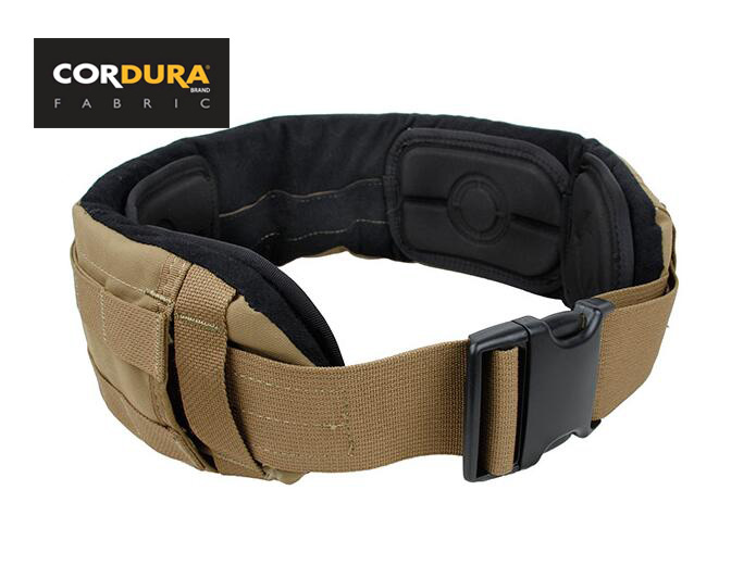 Tactical Military Combat MOLLE Low Profile BL Belt Coyote Brown With Liner Pad Set(STG051084) рюкзак tactical pro trek coyote