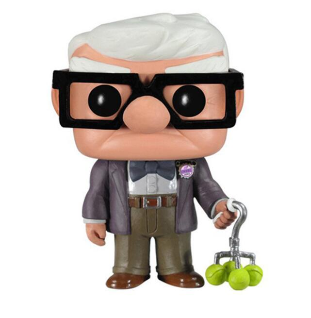 Anime Movie UP Grandfather Carl 59 Vinyl Doll Figure Toys