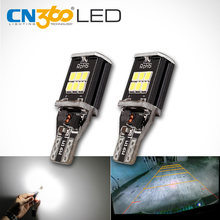 CN360 2 PCS Extremely Bright High Power Canbus SMD2835 912 921 T15 W16W Car LED Back up Reverse Light Bulb(China)