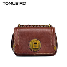 TOMUBIRD new Superior cowhide leather famous brand women bag retro fashion genuine leather women leather Shoulder bag