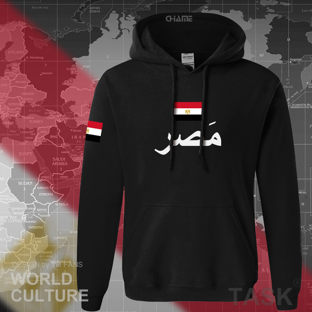 Arab Republic of Egypt hoodies men sweatshirt sweat new hip hop streetwear tracksuit nation footballer sporting EGY Egyptian