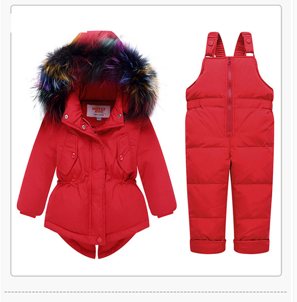 1-3-_15  Kids's Clothes Winter Lady Go well with Ski Jacket -30 Diploma Russian Boys Ski Sports activities Down Jacket +Jumpsuit Units Thicker Overalls HTB1jr3YFkyWBuNjy0Fpq6yssXXap