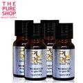 PURO óleo de argan 4 garrafas de 10 ml um conjunto de Cabelo Cuidados Com o Cabelo & tratamento do couro cabeludo puro óleo de argan marroquino para o cabelo seco e danificado purc