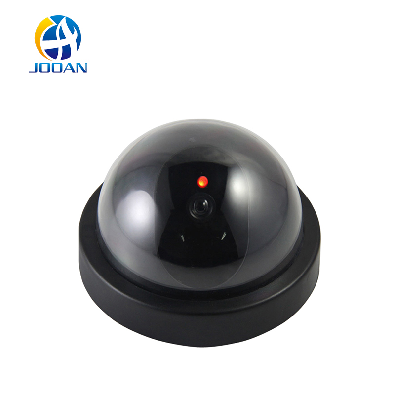 JOOAN indoor/outdoor Surveillance Dummy Ir Led Wireless Fake dome camera home CCTV Security Camera Simulated video Surveillance wireless fake camera led surveillance motion detection security cctv dummy cam for safety free shipping