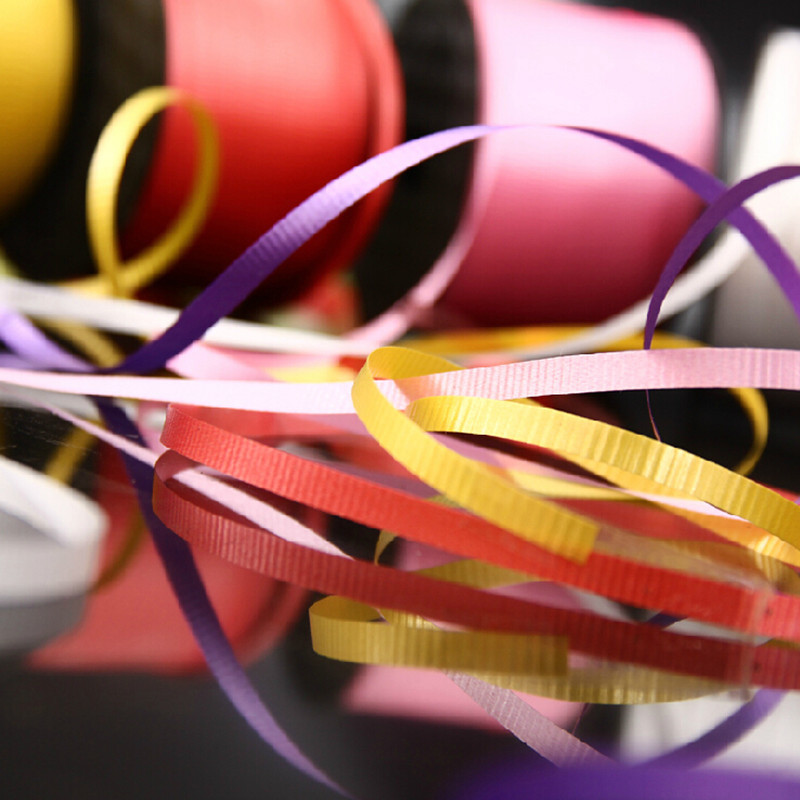 Practical Hot Festive & Party Supplies Balloon Ribbons Wedding Party Supplies Decoration Balloon Belay 90 Meters Length14 Kinds Of Colors Balloon Special Ribbons