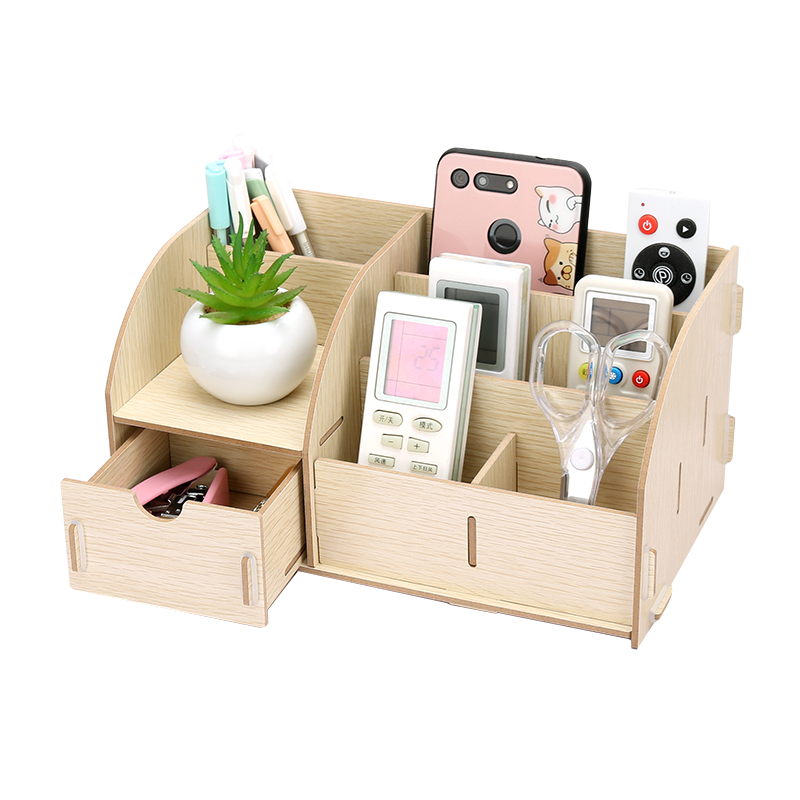 Holders With Drawer Paper Holders Multipurpose Wooden Storage Box 6
