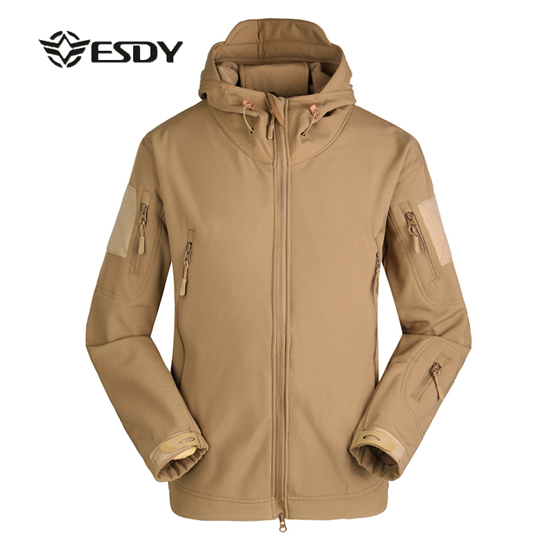 ESDY TAD V 4.0 Men Outdoor Hunting Camping Waterproof Thermal Windstopper Windproof Jacket Softshell Windbreaker Bionic Coats ss11 5 ss25 siam color pointback rhinestones glass material beads used for jewelry nail art decoration
