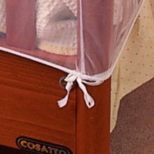 Clippasafe Baby Crib Cot Insect Mosquitoes Nets Tent Infant Bed Folding Crib Netting Canopy for Child Baby in stock