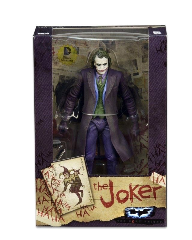 NECA DC Super hero Batman Superman The Joker PVC Action Figure Collectible Model toys 18cm neca the joker action figure batman pvc figure collectible toy 30cm