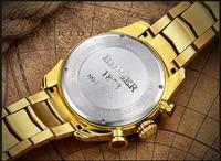 44mm Switzerland Chronograph Sports Watch Swim 2018 Waterproof Military Quartz Wristwatch BINGER Men Watches relogio masculino 5