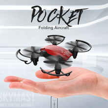 Pocket  Quadcopters Selfie Drone Mini Foldable Portable Folding RC Drone FPV With Camera HD WIFI Altitude Hold Helicopter new foldable mini selfie with drone hd camera pocket folding quadcopter altitude hold headless wifi fpv camera rc helicopter vr