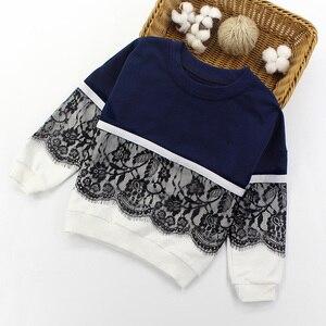 Image 2 - Спортивный костюм Artishare для девочек, зимняя и весенняя кружевная Одежда для девочек подростков, одежда для девочек 8, 10, 12, 14 лет