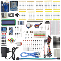 2017 Ultimate Starter Kit for Arduino for UNO R3 1602 LCD Servo Motor LED DIY Electronic Unit kit High Quality