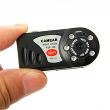 2017 Q7 Мини Wi-Fi Камера Беспроводной DVR видеокамеры Регистраторы Камера инфракрасный Ночное видение обнаружения движения Встроенный микрофон
