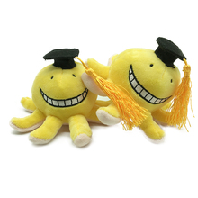 1pc 15cm Anime Assassination Classroom Korosensei Plush Toys Soft Korosensei Octopus Dolls Cartoon Kids Toys for Children Gifts elbcos assassination classroom korosensei octopus plush dools stuffed toys