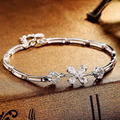 Factory Direct Sales S925 Silver Bracelet Korean Fashion Female Wild Silver Jewelry Wholesale Models