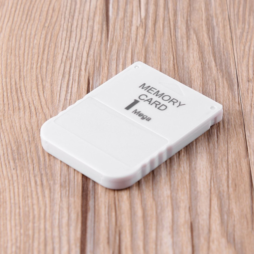 New Arrival PS1 Memory Card 1 Mega Memory Card For Playstation 1 One PS1 PSX Game Useful Practical Affordable White 1M 1MB image