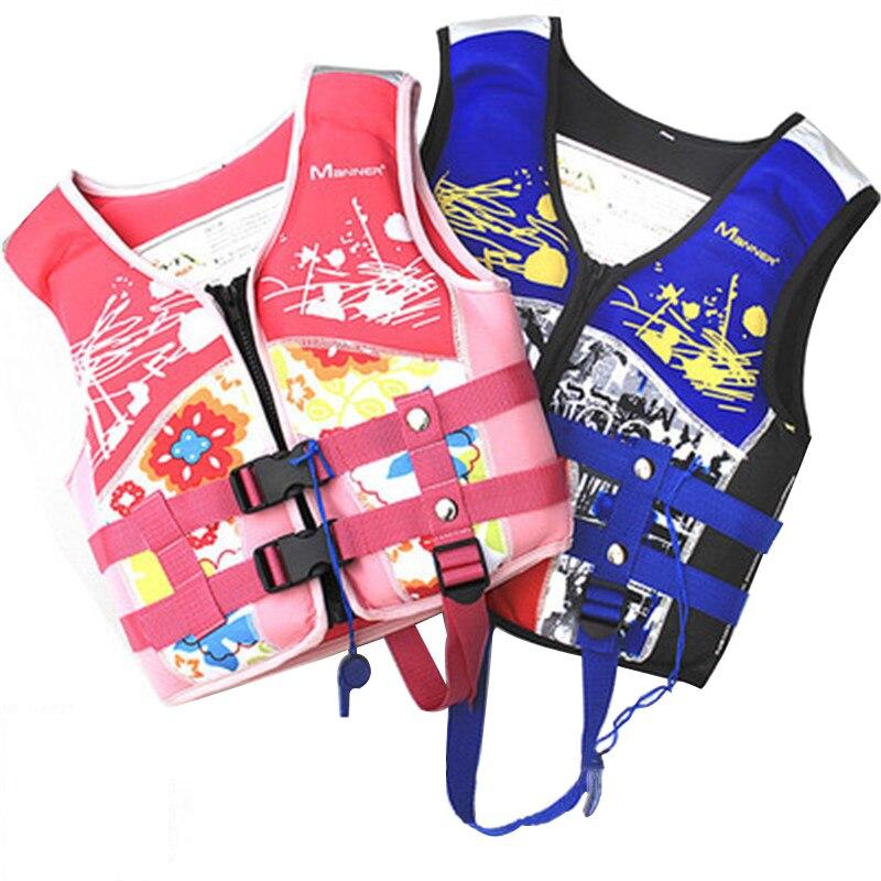 Manner Life Vest for Kids Children Life Jacket for Swimming Kayak Life Vest Jackets Boy & Girl Water Sports Safety Equipment