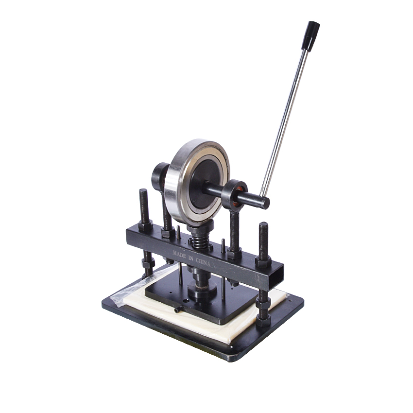 Máquina cortadora de cuero de la mano, papel fotográfico, molde cortador de hoja PVC/EVA, molde para cuero manual/troqueladora máquina de cortar manual - 1