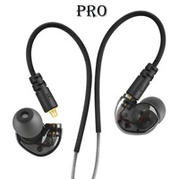 NiUB5 Pro Dynamic Driver Professional In Ear Sport Detach Earphone With 4 Drivers Inside Vs SE215