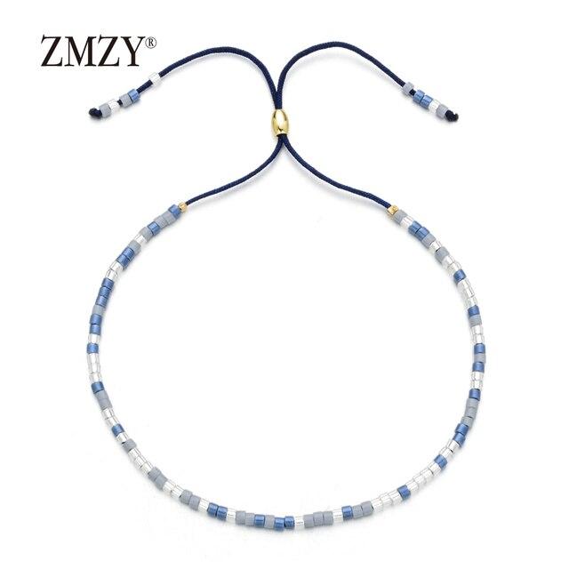 ZMZY Boho Style Miyuki Delica Seed Beads Bracelets for Women Friendship Bracelet Jewelry Colorful Charm Bracelet Femme Handmade 3