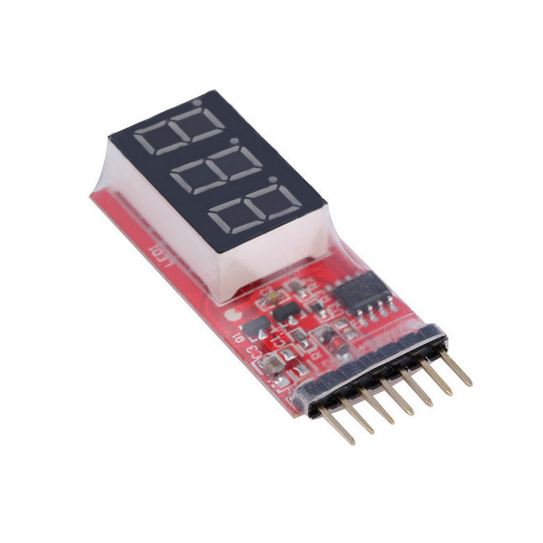 Ocday Rc Voltage Lipo Battery Meter Indicator 2s 6s Cells Led New Sale