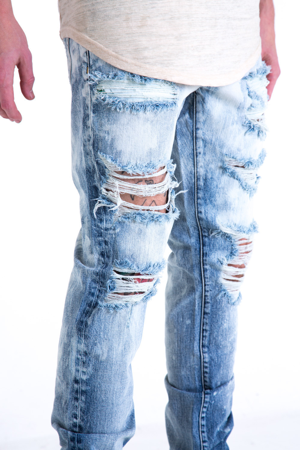 New Men Skinny Jeans 2017 Washed Slim Male Denim Joggers Biker Jeans Homme Hip Hop Ripped Distressed Moto Pants Jeans For Man men s skinny slim denim washed hip hop jeans vintage ripped biker classic slim pants relaxed fit bootcut jeans mens