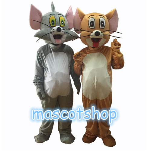 Disfraz de mascota Tom y Jerry Halloween Fiesta de Navidad Disfraz - Disfraces