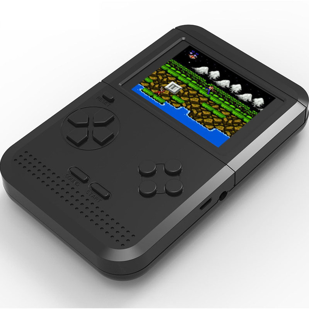 Image 5 - GRWIBEOU Retromax 8 Bit Mini Handheld Game Console Built in 300 Games 3 inch LCD Video Game Player Kids Gift-in Handheld Game Players from Consumer Electronics