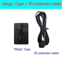 Magic Tape + IR Extender Cable For x96 x96w amlogic S905X S905w Tv Box(China)