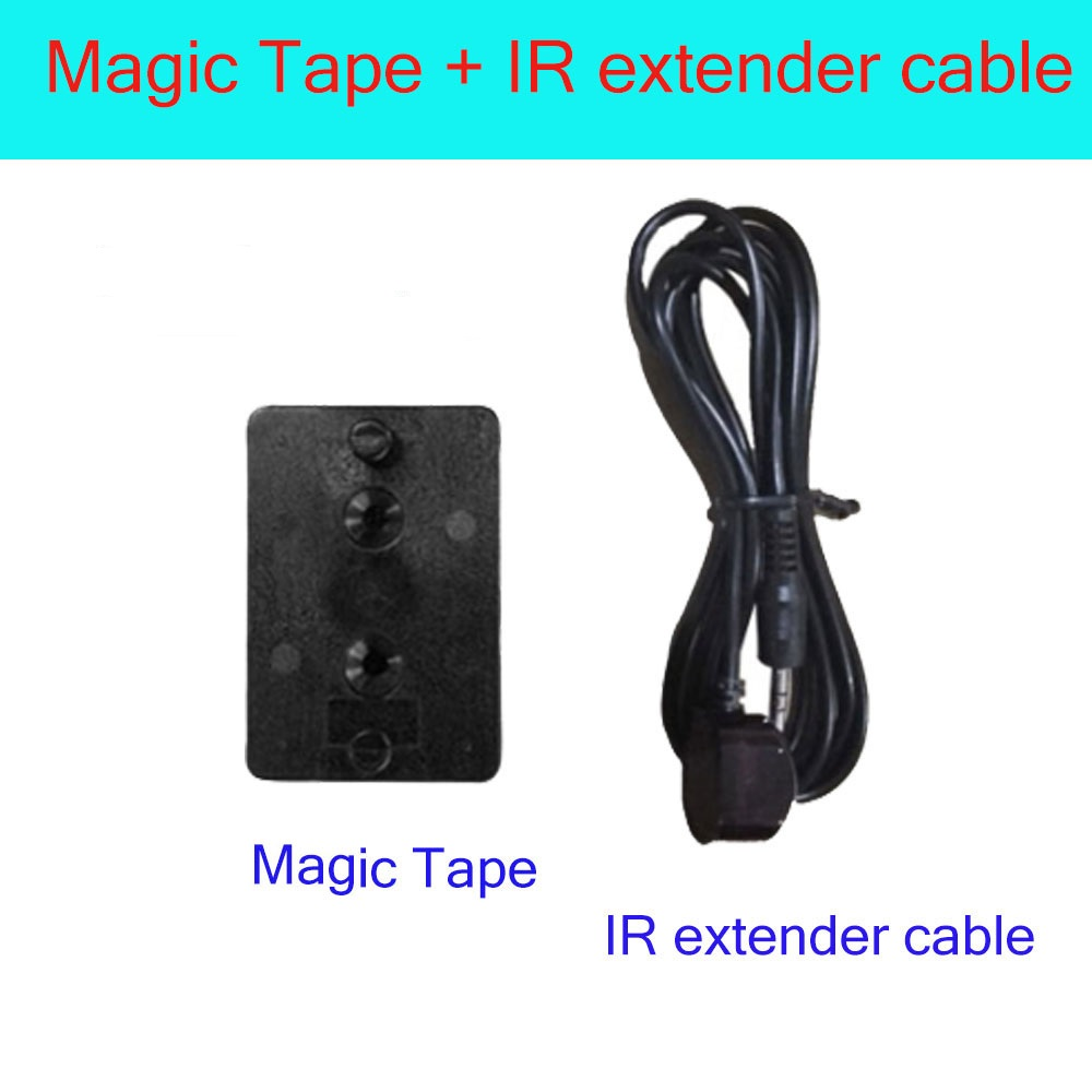 magic tape + IR extender cable for x96 mini x96 x96w tv box