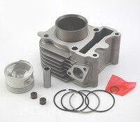 Engine Spare Parts Motorcycle Cylinder Kit For Yamaha ZY100 RS100 JOG100 ZY RS JOG 100 100cc