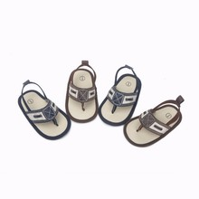New Summer Indoor Soft Bottom Comfortable Baby Toddler Shoes Herringbone Breathable Non-Slip