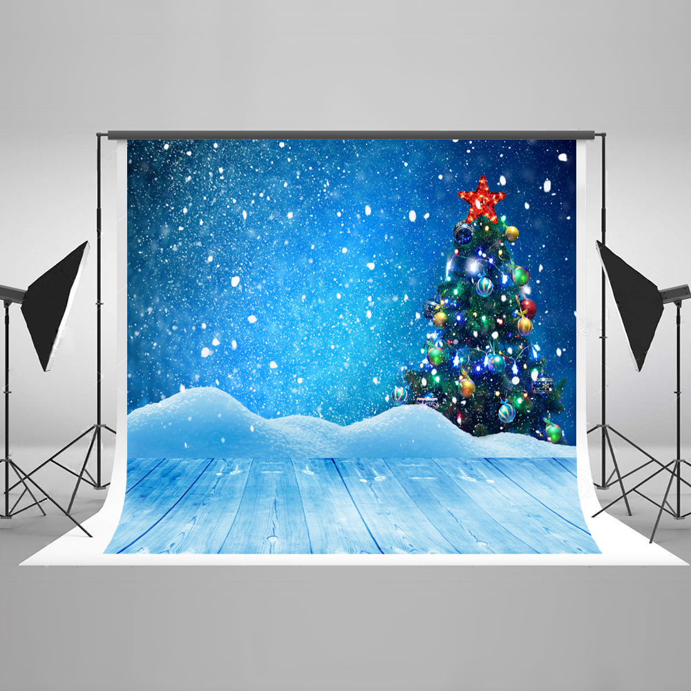 Kate 200x300cm (6.5x10ft)Winter Photo Background Photography Backdrop Children Christmas Tree Backgrounds For Photo Studio
